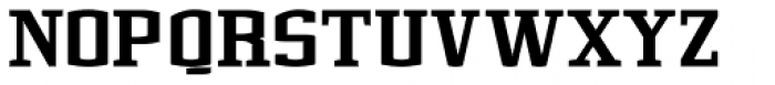 Cyrus Black Font UPPERCASE