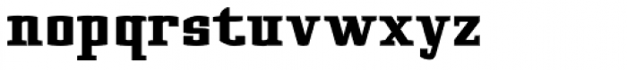 Cyrus Black Font LOWERCASE