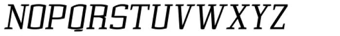 Cyrus Italic Font UPPERCASE