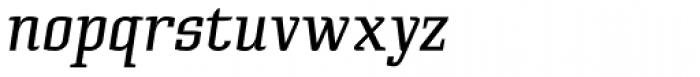 Cyrus Italic Font LOWERCASE