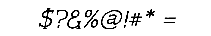 Czaristite Bold Oblique Font OTHER CHARS