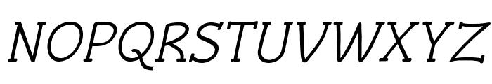 Czaristite Bold Oblique Font UPPERCASE