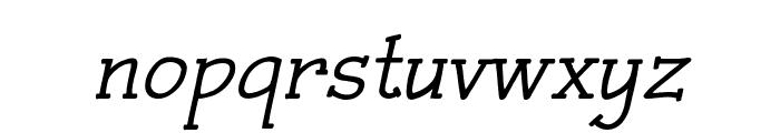 Czaristite Bold Oblique Font LOWERCASE