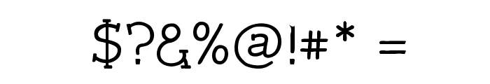 Czaristite Bold Font OTHER CHARS