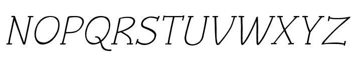 Czaristite Oblique Font UPPERCASE