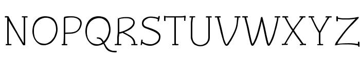 Czaristite Font UPPERCASE