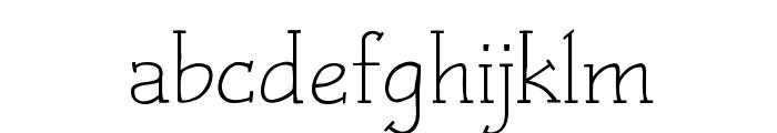 Czaristite Font LOWERCASE