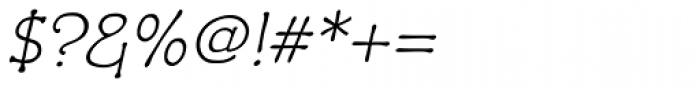 Czaristane Oblique Font OTHER CHARS