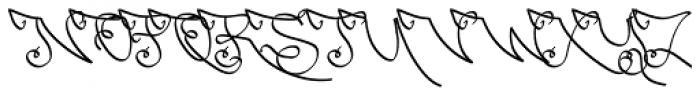 Czarnulka Font UPPERCASE