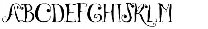 Czech Tales Font UPPERCASE