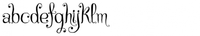 Czech Tales Font LOWERCASE