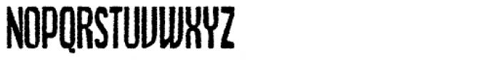 Czykago Rough Condensed DEMO Font UPPERCASE