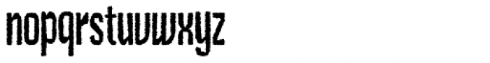 Czykago Rough Condensed PRO Font LOWERCASE