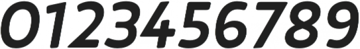 D Hanna Soft Bold Italic otf (700) Font OTHER CHARS