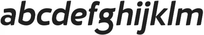 D Hanna Soft Bold Italic otf (700) Font LOWERCASE