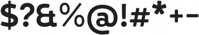 D Hanna Soft Bold otf (700) Font OTHER CHARS