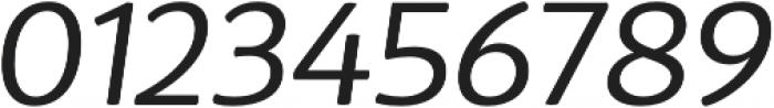 D Sari Book Italic otf (400) Font OTHER CHARS