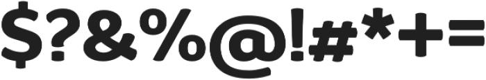 D Sari Heavy otf (800) Font OTHER CHARS