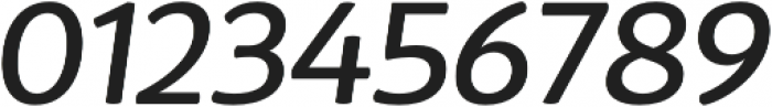 D Sari Medium Italic otf (500) Font OTHER CHARS