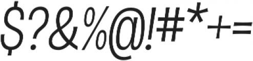 D Sert Alt Regular Italic otf (400) Font OTHER CHARS