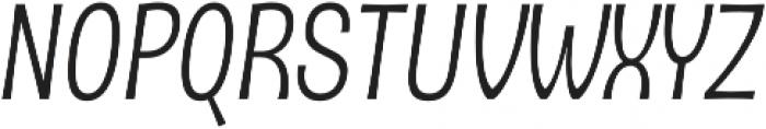 D Sert Alt Regular Italic otf (400) Font UPPERCASE