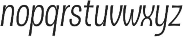 D Sert Alt Regular Italic otf (400) Font LOWERCASE