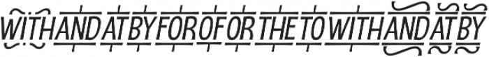 D Sert Extra 2 otf (400) Font LOWERCASE