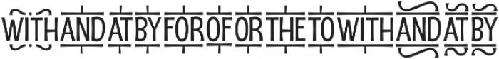 D Sert Extra 3 otf (400) Font LOWERCASE