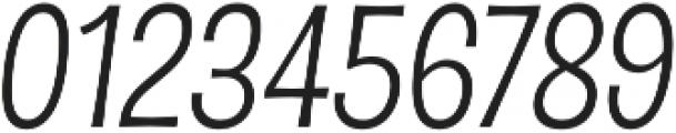 D Sert Regular Italic otf (400) Font OTHER CHARS