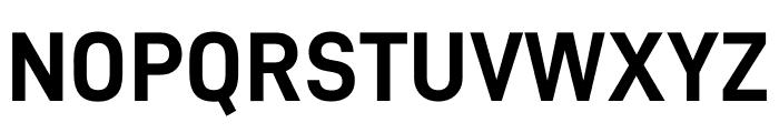 D-DIN Bold Font UPPERCASE