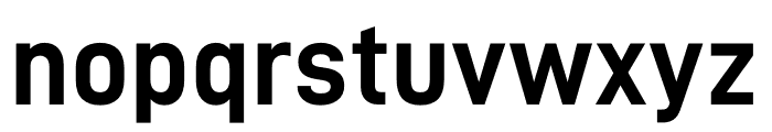 D-DIN Bold Font LOWERCASE