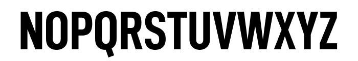 D-DIN Condensed Bold Font UPPERCASE