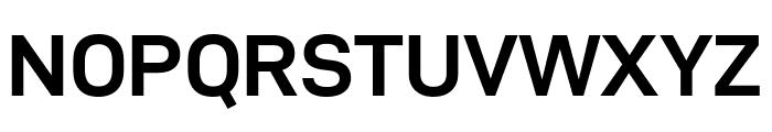 D-DIN Exp Bold Font UPPERCASE