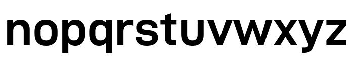 D-DIN Exp Bold Font LOWERCASE