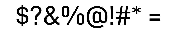D-DIN Exp Font OTHER CHARS