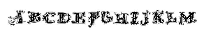 D_OLD MODERN 2 Font UPPERCASE
