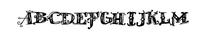 D_OLD MODERN Font UPPERCASE