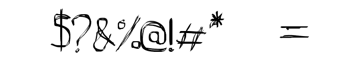 D_rough Normal Font OTHER CHARS