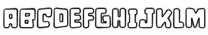 d puntillas [a] Lace Font UPPERCASE