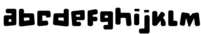 d puntillas [b] to tiptoe Font LOWERCASE