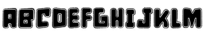 d puntillas [e] tiptoes squid Font UPPERCASE