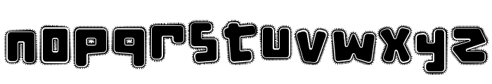 d puntillas [e] tiptoes squid Font LOWERCASE