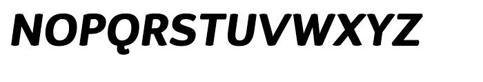 D Sari Heavy Italic Font UPPERCASE