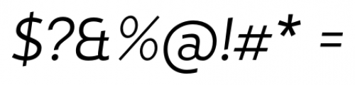 D Hanna Book Italic Font OTHER CHARS
