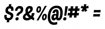 D Sert Black Italic Font OTHER CHARS