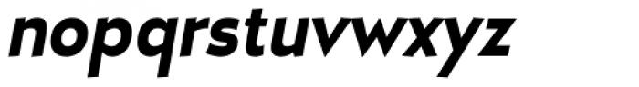 D Hanna Black Italic Font LOWERCASE