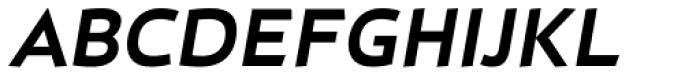 D Hanna Heavy Italic Font UPPERCASE