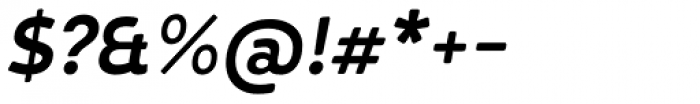 D Hanna Soft Bold Italic Font OTHER CHARS