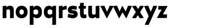 D Hanna UltraBlack Font LOWERCASE