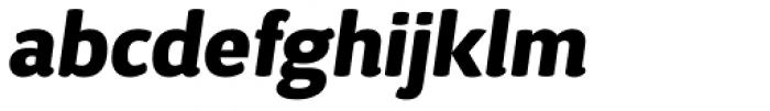 D Sari Black Italic Font LOWERCASE